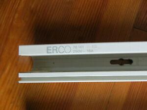 2 x ERCO weiße  Stromschiene Lichtschiene  je 100 cm