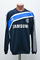 CHELSEA ENGLAND 2009/2010 TRAINING TOP FOOTBALL SHIRT JERSEY ADIDAS SIZE L ADULT