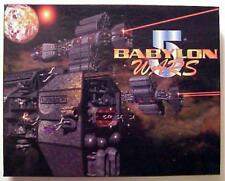 BABYLON 5 WARS game; Agents of Gaming; brand new in Mint condition, OOP
