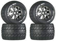 Duratrax DTXC3575 Mounted Bandito MT 3.8 Tire / Wheel (4) Traxxas E-Maxx Revo