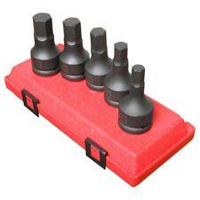 "Sunex  Tool 4507 3/4"" Drive 5 Piece Metric Hex Impact Set"