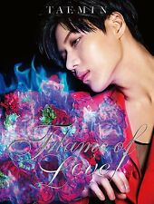 TAEMIN from SHINee Japan 2nd Mini Album [Flame of Love] CD + DVD Limited Edition