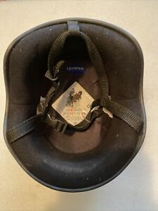 Champion Junior Plus Jockey Helmet Riding Hat Size 2 (56-57cm) Prompt UK Post