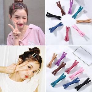 2pcs Women Bowknot Hairpins Hair Clip Barrettes Girls Hairwear Hair Accessories