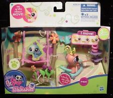 Littlest Pet Shop Walkables move BUTTERFLY  #2164 NEW set in box LPS