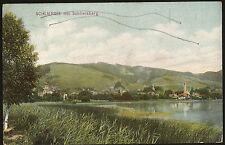 AK SCHLIERSEE MIT SCHLIERSBERG, GELAUFEN 1907 !  SCHLIERSEE STEMPEL