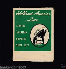 Holland American Cruise Lines Vintage Lens Cleaner wipes pack