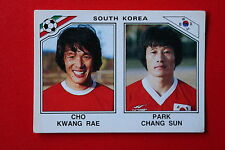 Panini MEXICO 86 N. 96 SOUTH KOREA  With back GOOD CONDITION!!