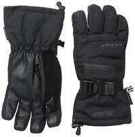 NEW Seirus Prism Gore-tex Black Mens Large Winter Ski Snowboard Gloves Msrp$65
