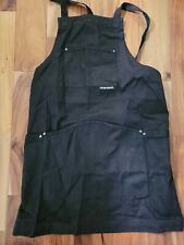 New listing Muse Space Bib Apron, Heavy Duty Black, Adjustable up to Xxl