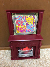 Barbie My Scene Masquerade Madness Party Pad Fireplace Living Room Furniture