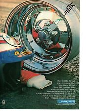 1979 CRAGAR SS/T WHEEL / DON PRUDHOMME ~ ORIGINAL PRINT AD
