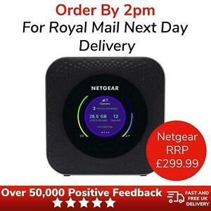 Netgear Nighthawk M1 MR1100 Unlocked 4G LTE Mobile Router Hotspot 1Gbps