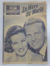 FILM COMPLET N° 338 LA MERE DU MARIE Gene TIERNEY John LUND Greta GARBO