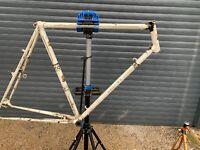 cadre velo course ancien / Randonneuse Peugeot old bike fahrrad Eroica frameset