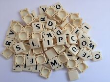 New Scrabble Tiles Letters - 100 Set of Game Pieces Choice of Plastic UK