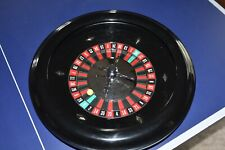 "18"" Premium Casino-Style Roulette Wheel with Metal Wheel and 2 Roulette Balls"