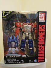 NEW!!! Transformers Generations Titans Return Powermaster Optimus Prime RARE!!!