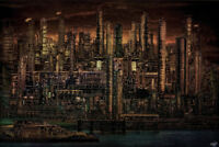 Industrial Psychosis by Chris Lord Photo Art Print Poster 12x18 inch