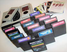 Vintage 1982 Intellivision II Console 5872 Bundle with 16 Games and Manuals!!