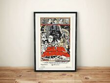 Tyler stout Star Wars Trilogy - A2 Very Rare Poster Print Set. Mondo. FREE P&P