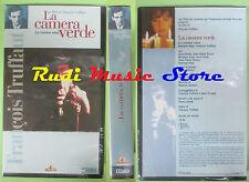film VHS LA CAMERA VERDE Francois Truffaut SIGILLATA L'UNITA' (F85) no dvd