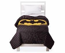Batman Dark Knight Comforter TWIN & Plush Cuddle Pillow