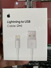 Genuine 2M Apple Lightning USB Charger Lead Cable For iPhone x 7 6 5 iPad 4 Air