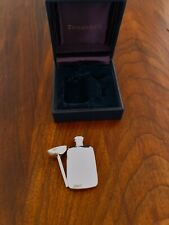 - TIFFANY STERLING SILVER PERFUME BOTTLE & FUNNEL IN ORIGINAL TIFFANY BOX