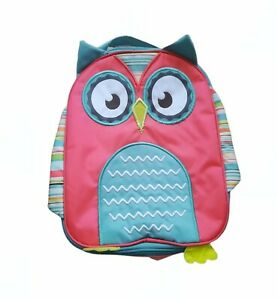 """Thirty-one Chill-licious Owl Thermal Lunch Bag """"Hoo's Hungry"""" Pink Blue & Green"""