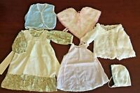 Lot of 11 Pcs Doll Clothes For Large Size Dolls, Or As Baby Clothes