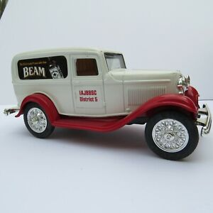 Vintage Jim Beam Club 1932 Ford Delivery Van Diecast Bank by Ertl USA Made