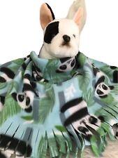 PANDA BEAR,Fuzee Fleece Dog Blankets,Soft Pet Blanket Travel Throw Cover