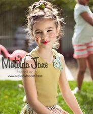 Matilda Jane Girls Size 18 Months Serendipity Celery Tank Top New