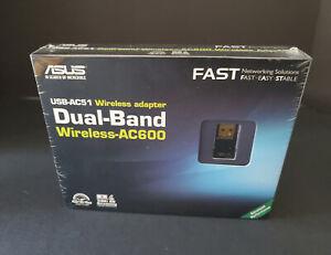 ASUS USB-AC51 AC600 Dual-Band WiFi Wireless Adapter