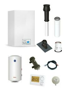 Therm 18 KDZ mit Warmwasserspeicher 100 L und Zubehör - Komplettpaket