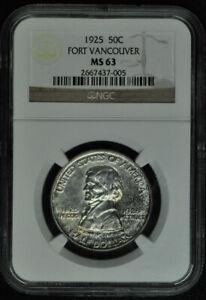 1925 - Vancouver Commemorative Half Dollar - NGC MS63