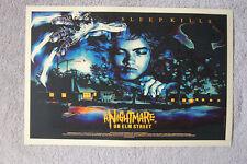 A Nightmare on Elm Street #3 Lobby Card Movie Poster