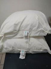 """Martha Stewart Collection Allergy-Wise 2 Pack Euro Pillows Cotton  26""""x26"""" NWOT"""