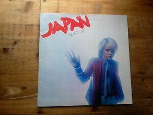 Japan Quiet Life Very Good Vinyl LP Record Album AHAL 8011