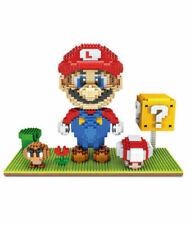 Super Mario Brothers Micro Mini Nanoblock Building Blocks  kids child toys ZMS
