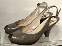 Ernesto Esposito Shoes Wedge Heels Platform Classy Chic Made in Italy Size: 39