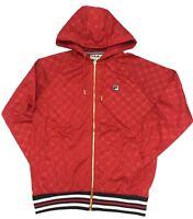 Fila Chinese Red Royce Zip Hoodie