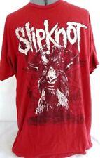SLIPKNOT T-Shirt, Mens Adult Large, Red, 100% Cotton, Slipknot Logo Tee