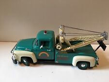 "RARE Green Welly 1:18 1956 Ford F100 Tow Truck ""Rainbow Road Service"""