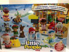 FISHER PRICE LITTLE PEOPLE CHRISTMAS ADVENT CALENDAR 24 FIGURES - NEW