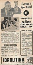 W8925 IDROLITINA - Maria Rudian di Tortona - Pubblicità del 1958 - Vintage ad