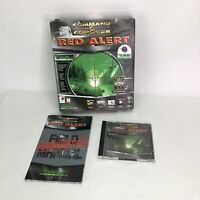 Command & Conquer Red Alert (1996) PC CD Big Box Vintage