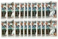 x50 RYAN MOUNTCASTLE 2020 Bowman Prospects #36 Rookie Card lot/set Orioles star