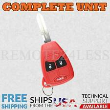 Keyless Entry Remote for 2006 2007 Dodge Charger Car Key Fob Red